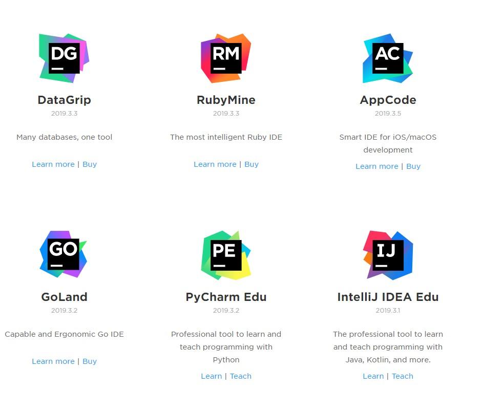 Jetbrains 全家桶 激活 Pycharm, Webstorm, IntelliJ IDEA, PhpStorm, Rider Clion, RubyMine, AppCode, Goland, DataGrip,Kotlin等等
